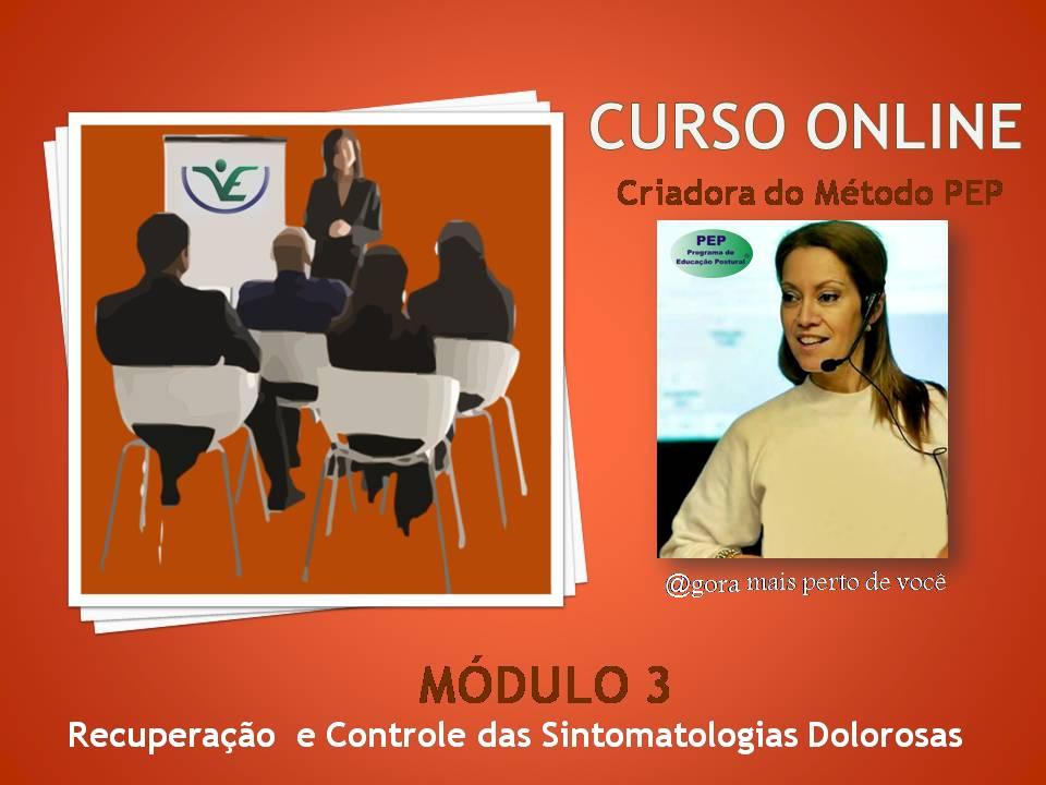 Módulo III – Recuperação e Controle das Sintomatologias Dolorosas