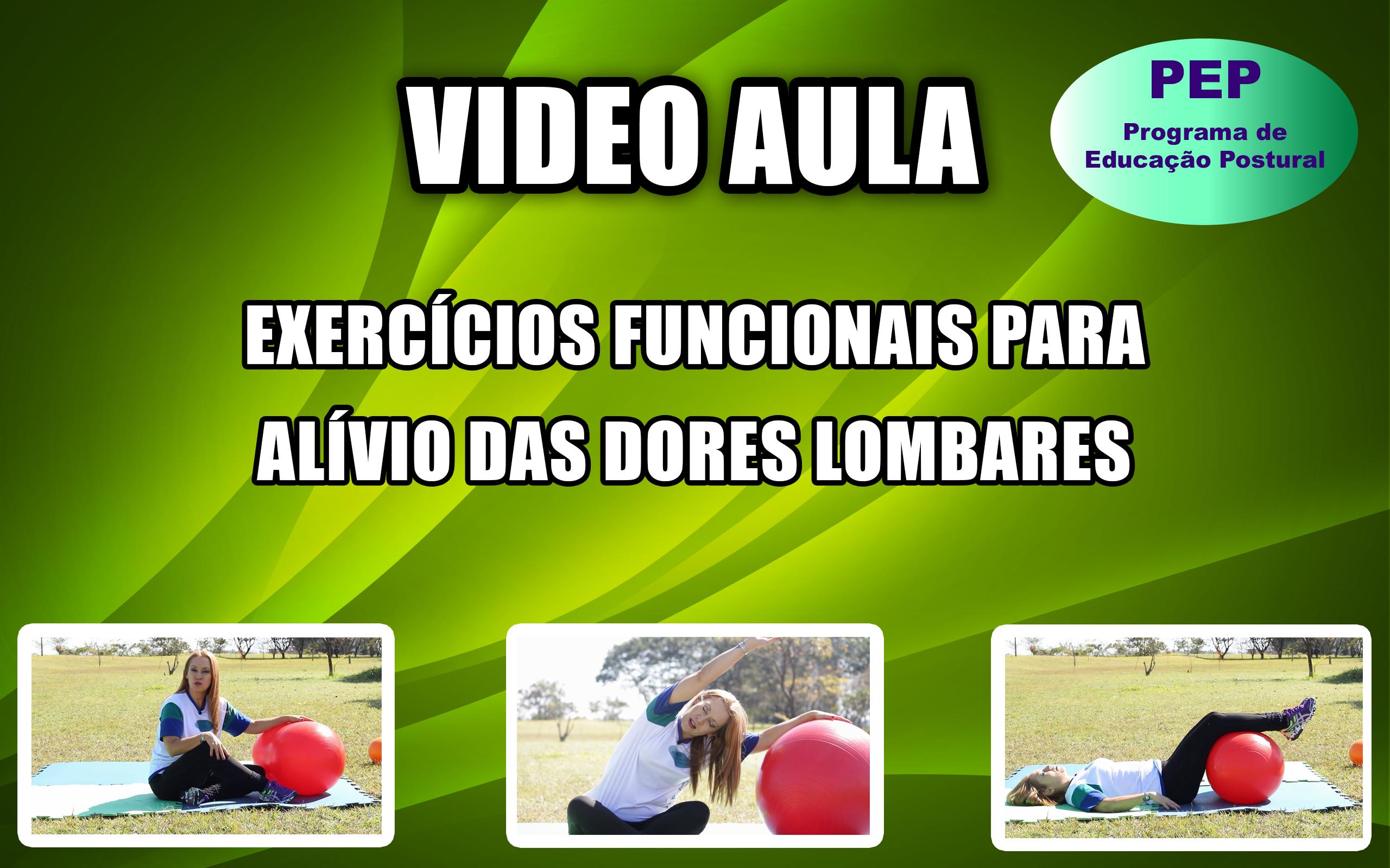 Exercícios Funcionais para alívio das dores Lombares